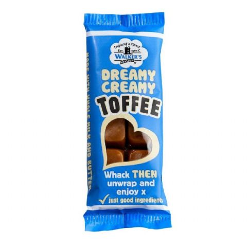Dreamy Creamy Original - Walker's Nonsuch Toffee Bar 50g